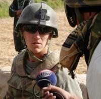 Luitenant Sander (foto Mark v.d. Watering)