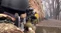 Government sniper, Institutska Street, 20 February 2014. Looking up towards the Hotel Ukraina