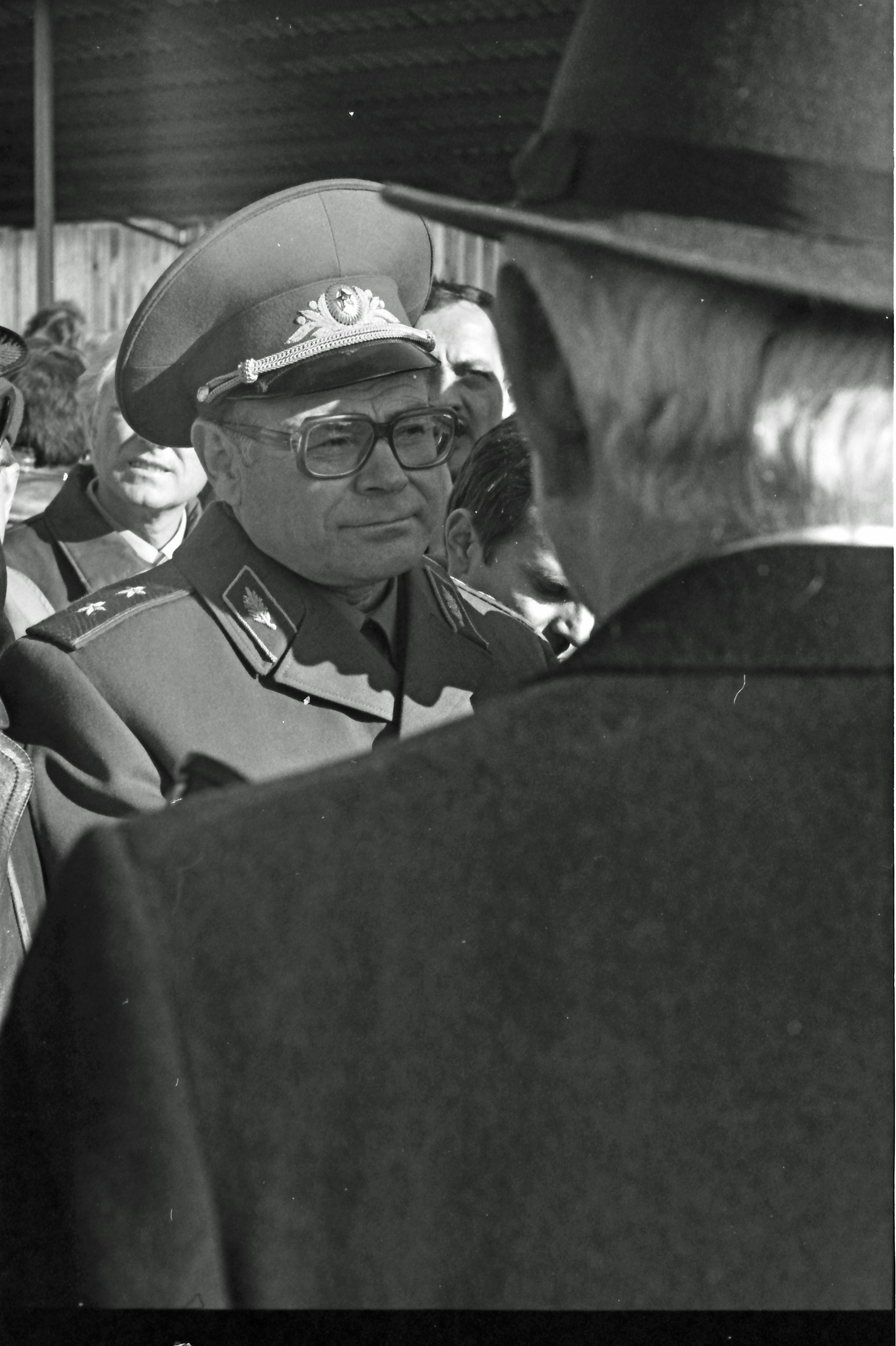 Lieutenant-General Anatoly Kuntsevich, deputy commander of the Soviet Chemical Warfare Troops. © Hans de Vreij