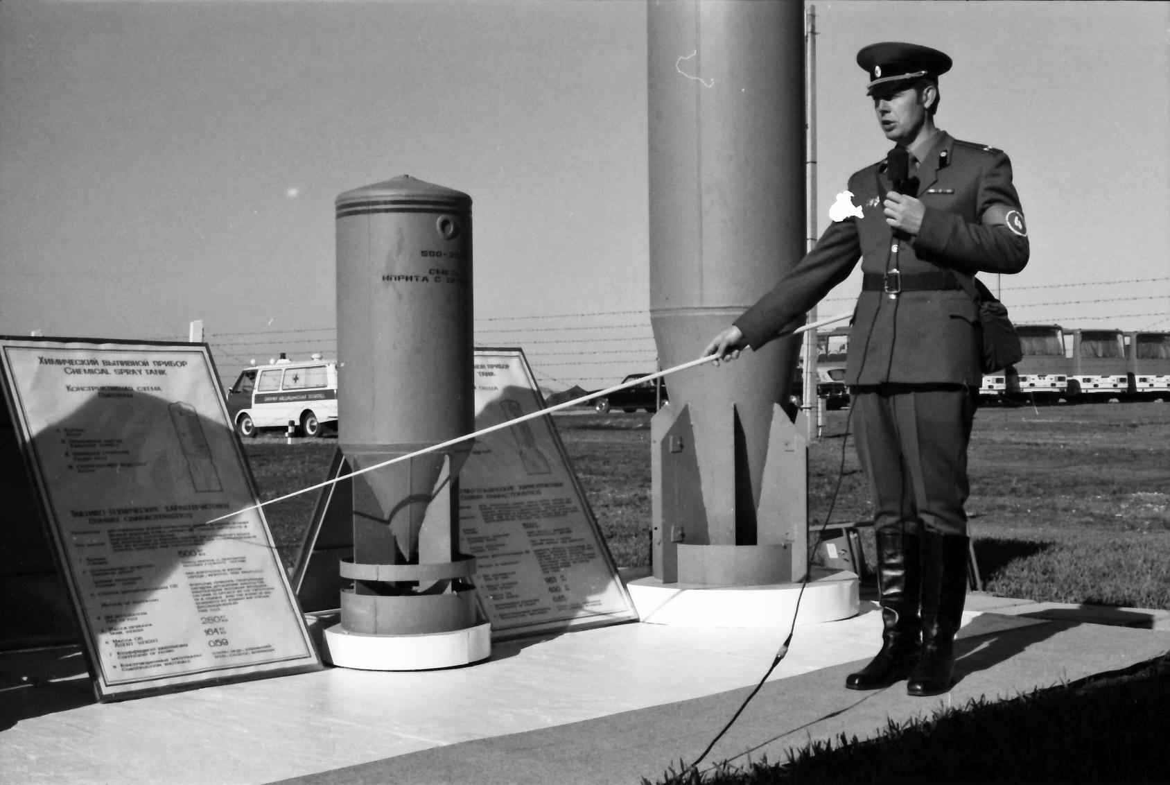 Chemical spray tank, free-fall bomb. © Hans de Vreij